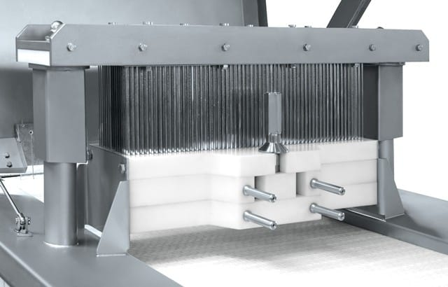 inteneritrice industriale per carne-testata t700
